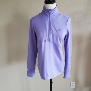 Adidas Women's 1/2 zip pullover Medium